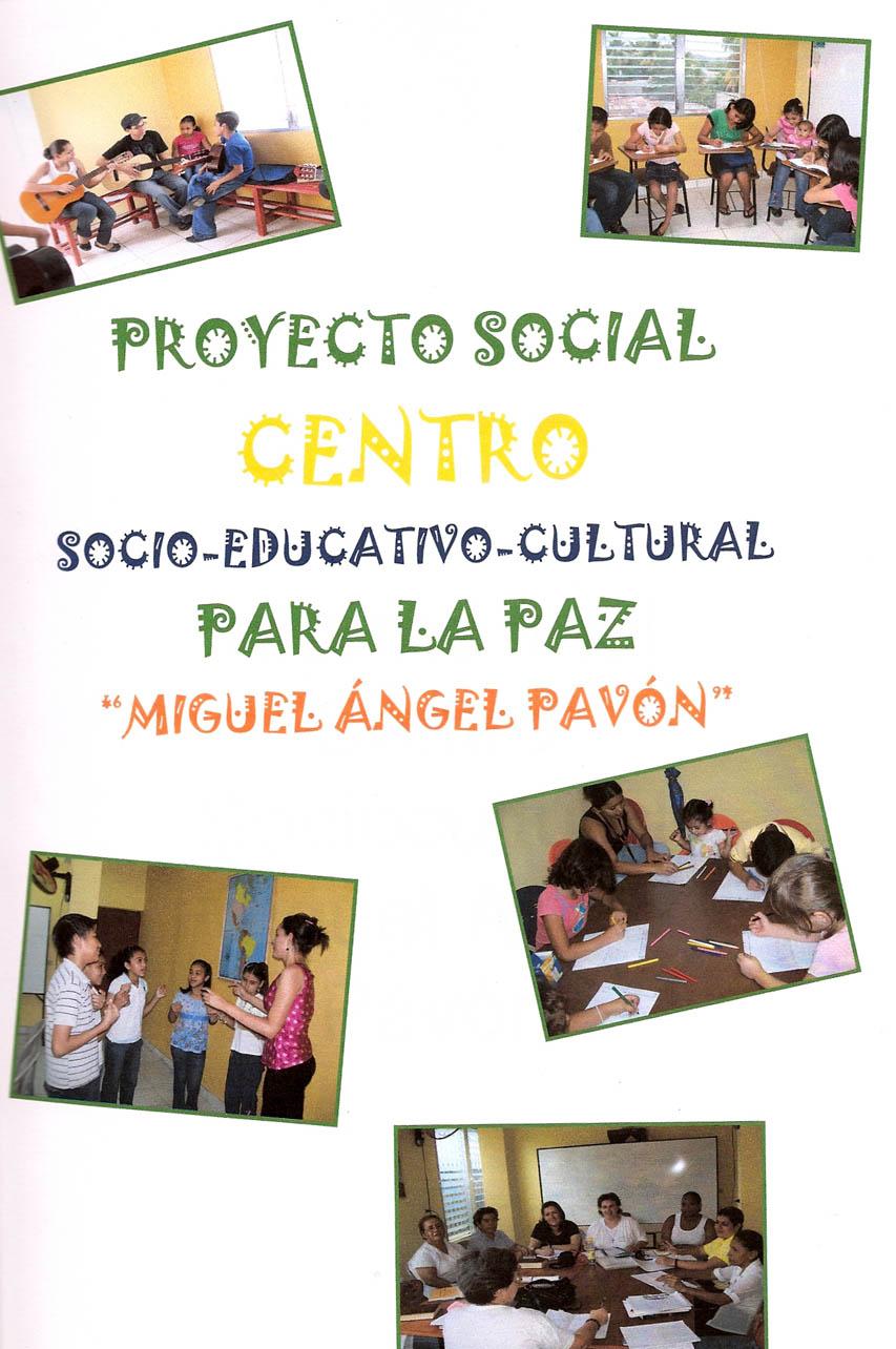 Ya est en marcha el centro comunitario para la paz de san for Proyecto social comedor comunitario